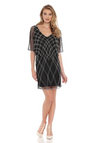 Geometrical Beaded pattern Dress
