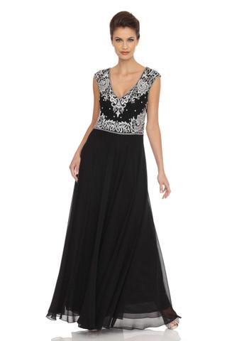 Vintage Look Beaded Dress