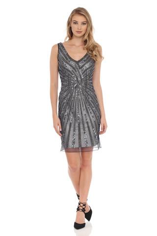 JKARA V-neck Sheath Dress