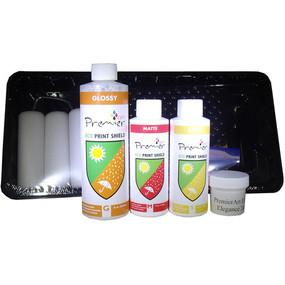 Eco Print Sheild InkJet Canvas Coating Sample Kit