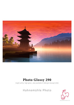 """44"""" x 100' Hahnemuhle Photo Glossy 290 gsm Roll"""