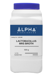 Lactobacilli MRS Broth [LMRS Broth] (L12-104)