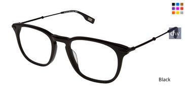 Black Evatik 9151 Eyeglasses.