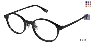 Black Evatik 9145 Eyeglasses - Teenager.