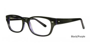 Black/Purple Vivid 817 Eyeglasses