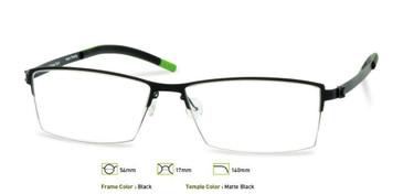Black, Free-Form FFA908