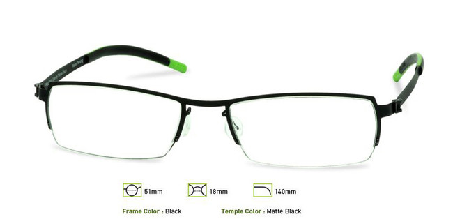 Free-Form FFA910 Unisex Prescription Eyeglasses