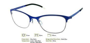 Matte Blue, Free-Form FFA922