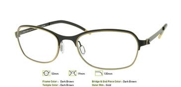 Dark Brown, Free-Form FFA941