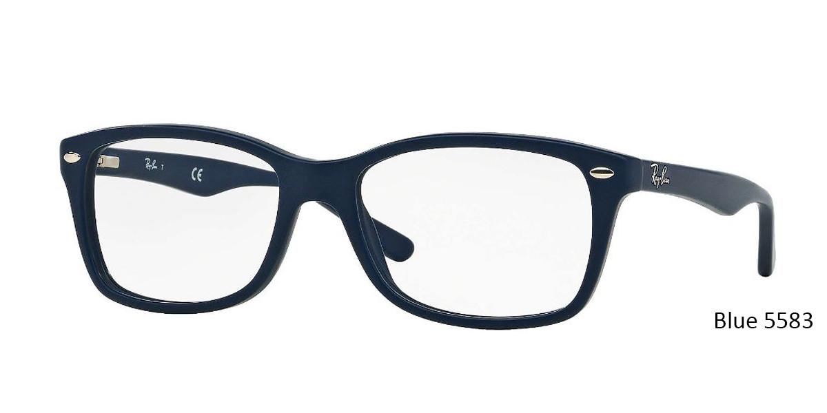 Blue 5583 RayBan Eyeglasses 0RX5228 - All Colors.