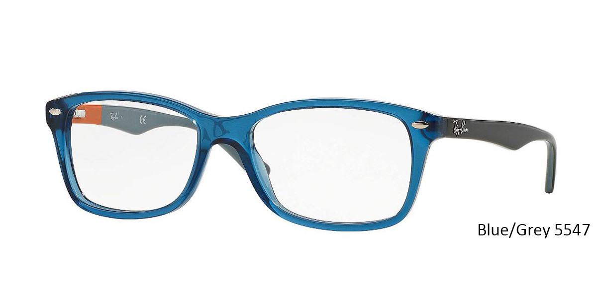 Blue/Grey 5547 RayBan Eyeglasses 0RX5228 - All Colors.