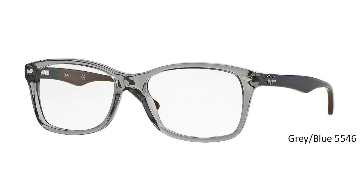 Grey/Blue 5546 RayBan Eyeglasses 0RX5228 - All Colors.