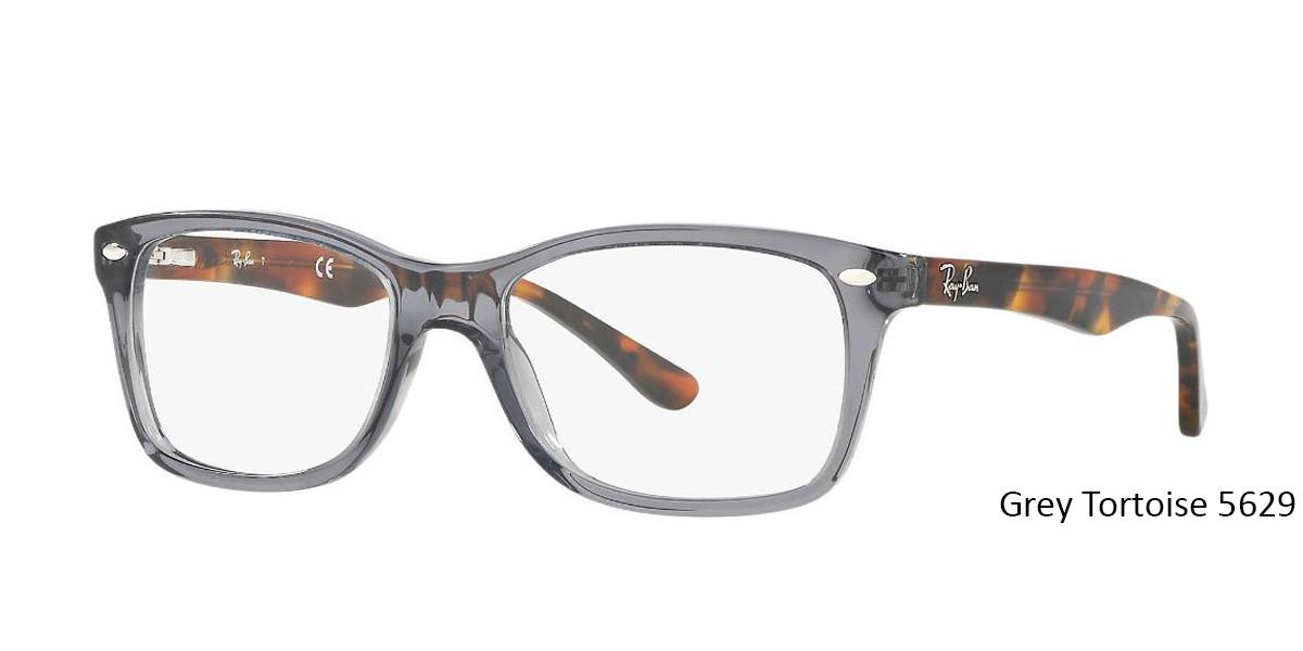 Grey/Tortoise 5629 RayBan Eyeglasses 0RX5228 - All Colors.
