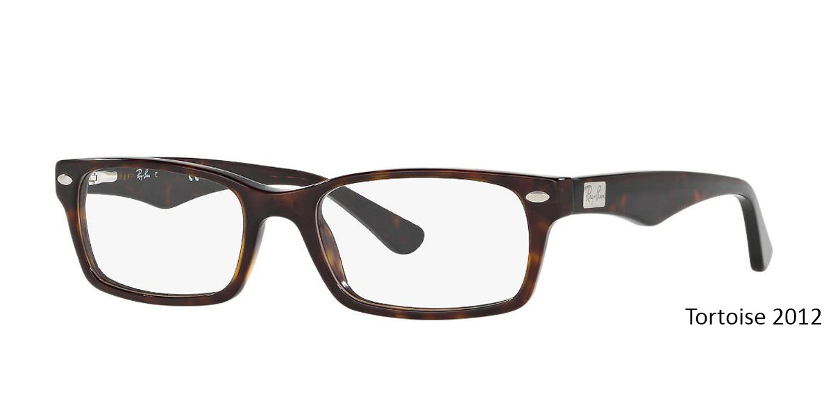 Tortoise 2012 RayBan Eyeglasses 0RX5206 - All Colors.