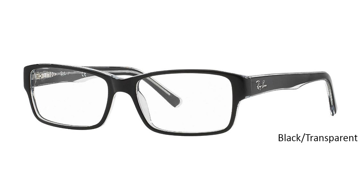 Black/Tortoise RayBan Eyeglasses 0RX5169 - All Colors.