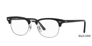Black 2000 RayBan Eyeglasses 0RX5154.