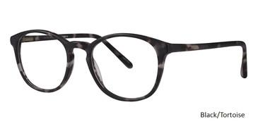 Black/Tortoise Vivid 862 Eyeglasses