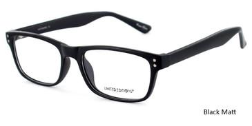 Black GEEK ARTWORK  Eyeglasses