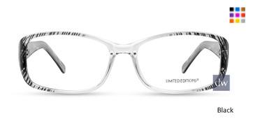 Black Limited Edition EVELYN Eyeglasses