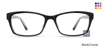 Black/Crystal Limited Edition LTD 706 Eyeglasses