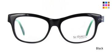 Black ST. Moritz BONDI Eyeglasses