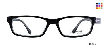 Black ST. Moritz RADFORD Eyeglasses