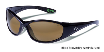 Gargoyles SHAKEDOWN Black Brown/Bronze/Polarized Sunglasses