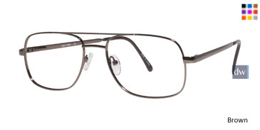Brown Eight To Eighty Morty Eyeglasses