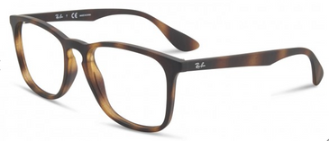 RAY-BAN 7074 Eyeglasses | Tortoise