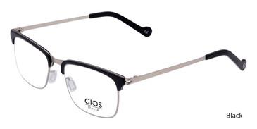 Black Gios Italia SN200020 Eyeglasses.