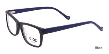 Black Gios Italia RF500082 Eyeglasses .