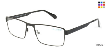 Black C-Zone A5195 Eyeglasses.