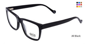 All Black Gios Italia RF500057 Eyeglasses