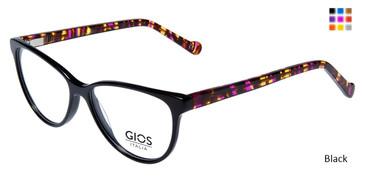Black  Gios Italia RF500022 Eyeglasses