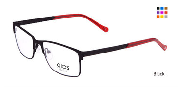 Black Gios Italia LP100050 Eyeglasses