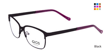 Black Gios Italia LP100045 Eyeglasses