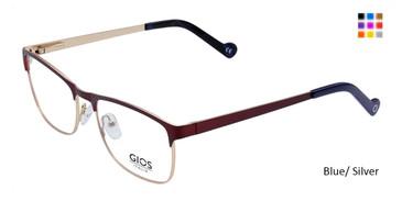 Blue/ Silver  Gios Italia LP100032 Eyeglasses