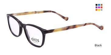 Black  Gios Italia GRF500067 Eyeglasses