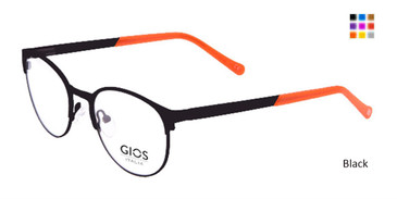 Black  Gios Italia GLP100049 Eyeglasses