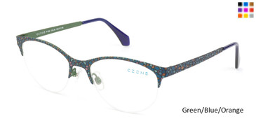 Green/Blue/Orange C-Zone P1160 Eyeglasses.