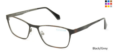 Black/Grey C-Zone H1157 Eyeglasses.