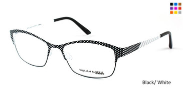 Black/White William Morris London WM4131 Eyeglasses