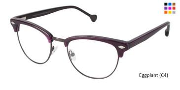 Eggplant (C4) Lisa Loeb Rock & Roll Eyeglasses