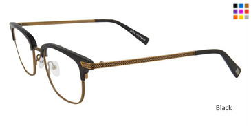 Black John Varvatos V162 Eyeglasses.