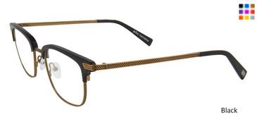 Black John Varvatos V162 Eyeglasses.