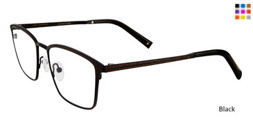 Black John Varvatos V165 Eyeglasses.