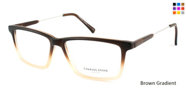 Brown Gradient William Morris Charles Stone NY CSNY 30003 Eyeglasses