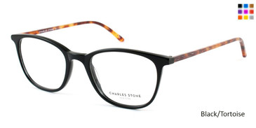 Black/Tortoise William Morris Charles Stone NY CSNY 30001 Eyeglasses