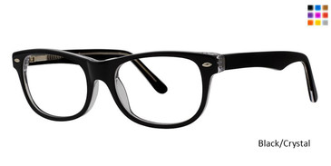 Black/Crystal Vivid 873 Eyeglasses.