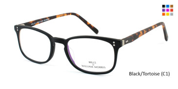 Black/Tortoise (C1) Wills By William Morris WILLS84